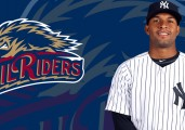 Almonte's Two Home Run Day Propels RailRiders to Sweep