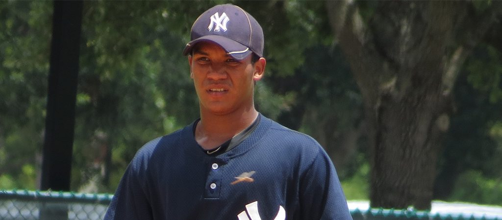 Thairo Estrada had a grand slam in the victory for the Yankees (Bryan Green)
