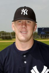 Brandon Weeden with the Yankees (Photo Courtesy of the Staten Island Yankees)