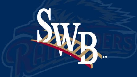The RailRiders were rained out in Rochester Saturday. They will play two Sunday