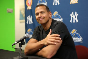 Alex Rodriguez will be excellent in his new role helping Yankees prospects improve their games. (Photo by Maritn Griff)