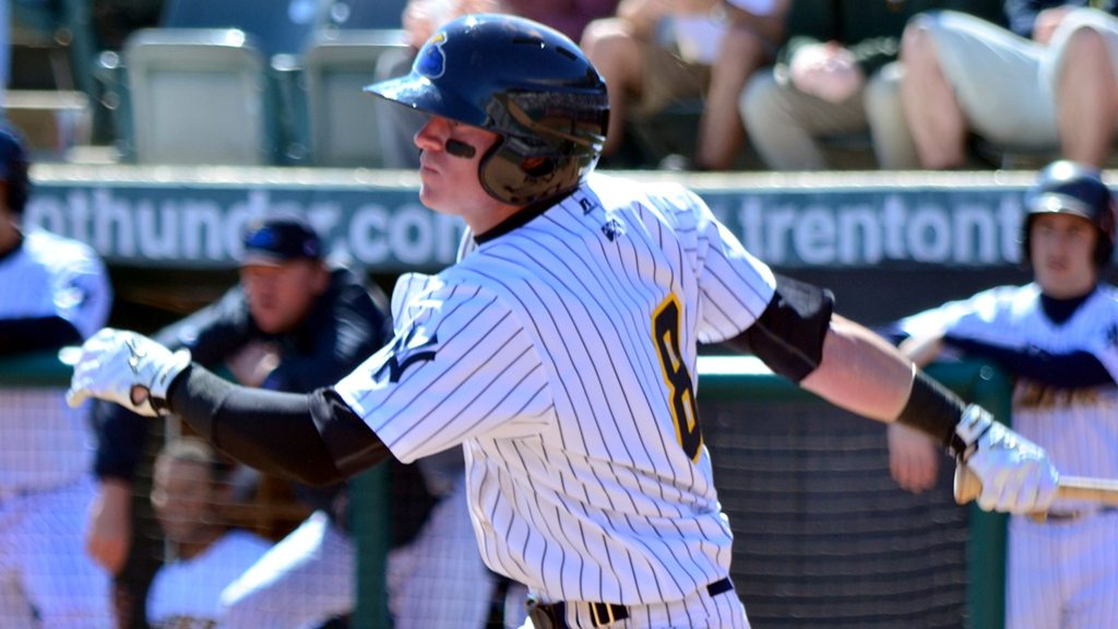 Ben Gamel with the Trenton Thunder (Flickr User: Rand Greenblatt)