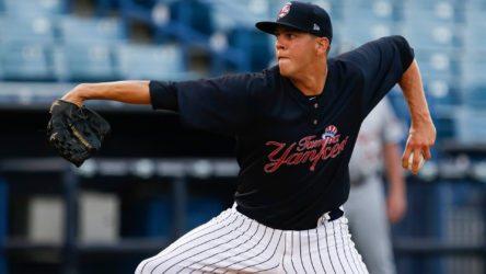 James Reeves (© Mark LoMoglio/Yankees)