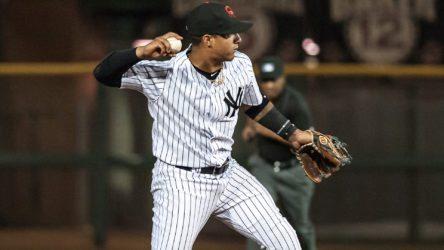 "Gleyber Torres in the Arizona Fall League ( Ryan ""Moose"" Morris - Freelance Photographer)"