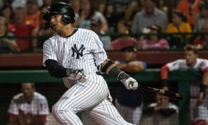"Gleyber Torres in the Arizona Fall League ( Ryan ""Moose"" Morris - Freelance Photographer)"